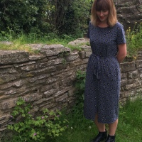 Suzy Dress with added sparkle